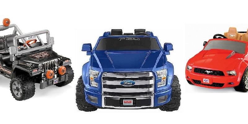 Power Wheels Battery Powered Cars & Trucks