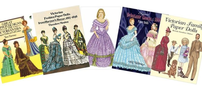 Victorian Paper Dolls are Educational and Fun