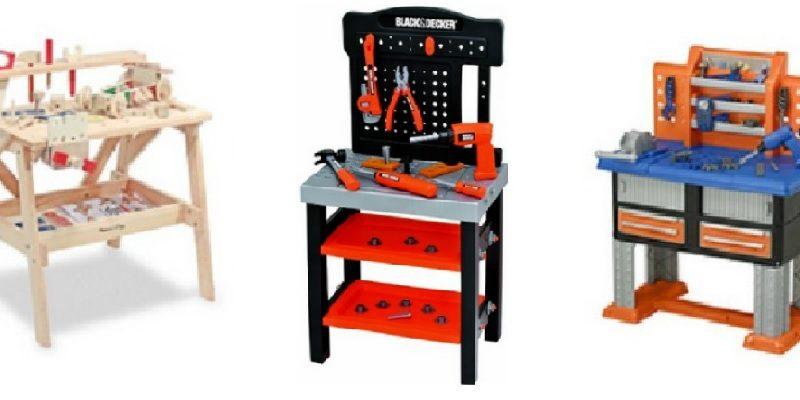 Workshop Workbench, Tool Bench for Kids