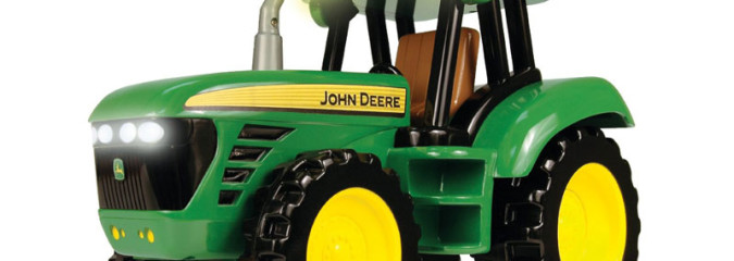 John Deere Collectible Toy Tractors