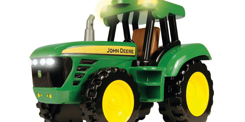John Deere Collectible Toy Tractors on john deere toy farm tractors