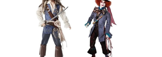 Johnny Depp Barbie Dolls