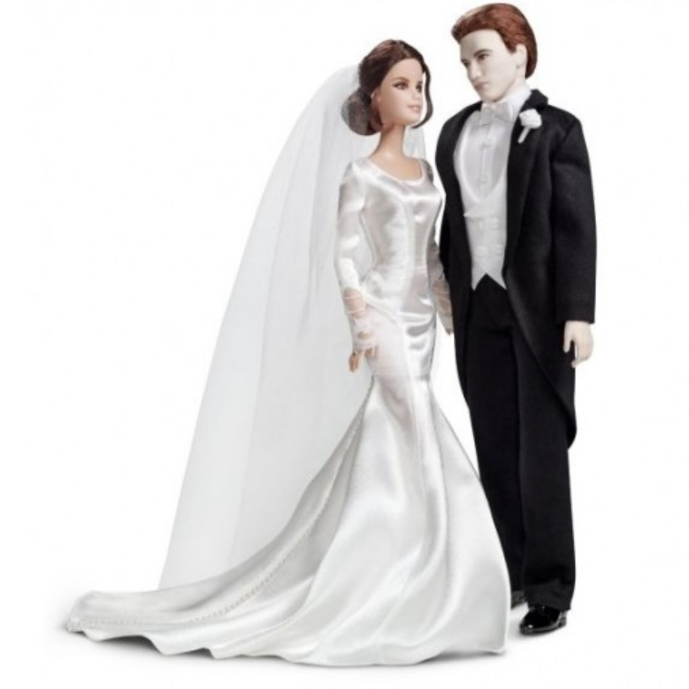 Twilight Bride and Groom Barbies