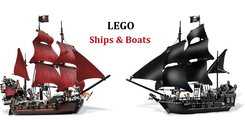 Lego Ships And Boats Toy Treasures