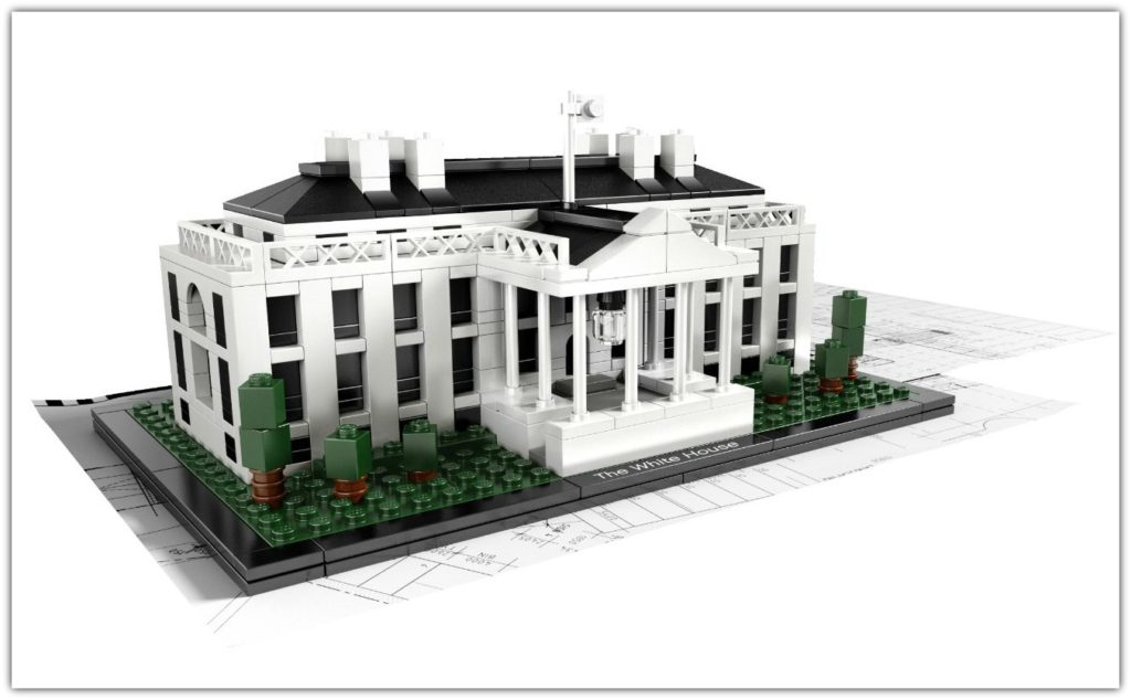 White House Lego Architecture set