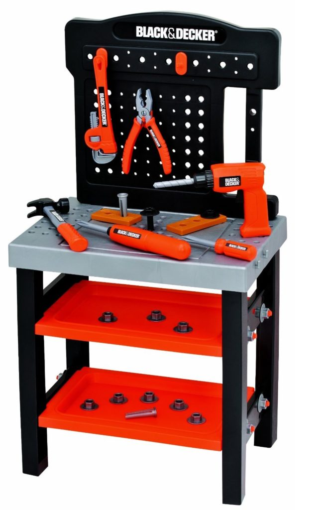 Workshop Workbench Tool Bench For Kids Toy Treasures