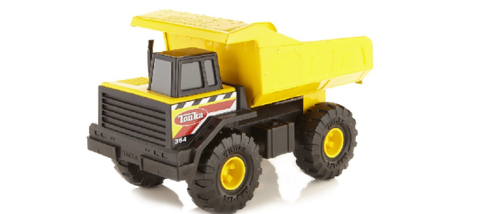 Tonka Classic Steel Dump Truck Vehicle