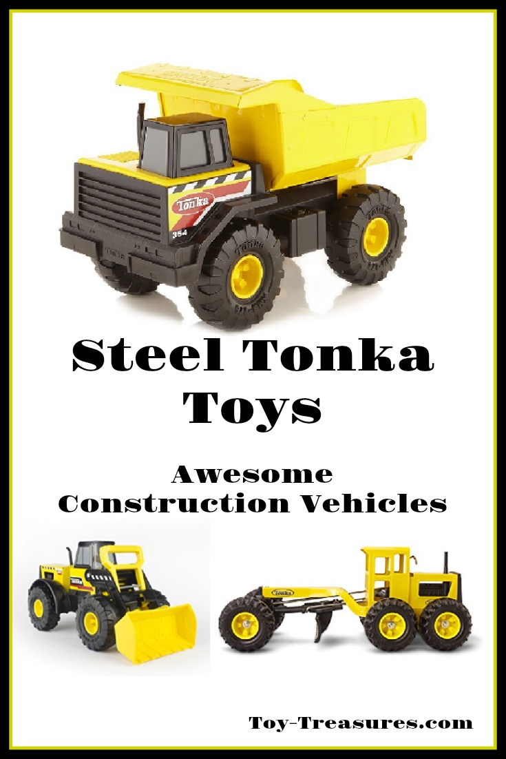 Steel Tonka Toy Dump Trucks