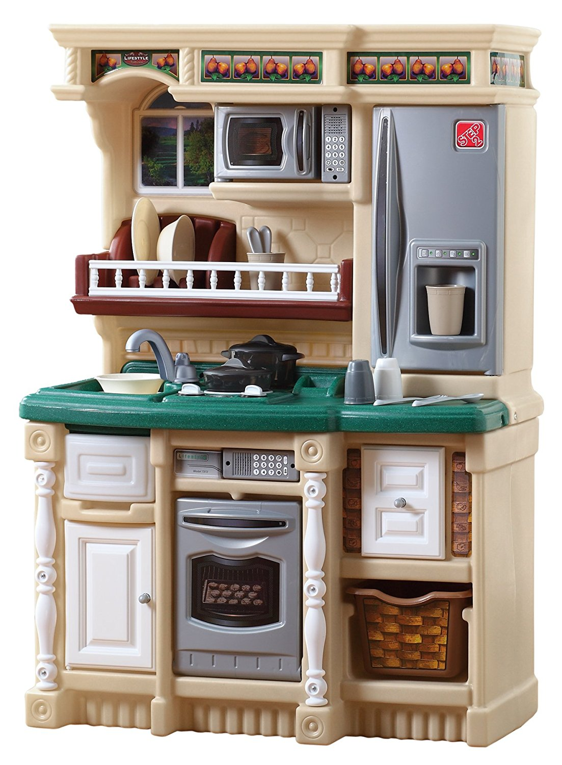 kids play kitchen sets toy treasures. Black Bedroom Furniture Sets. Home Design Ideas