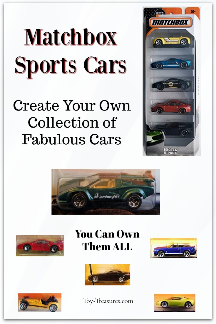 Matchbox Sports Cars Collection