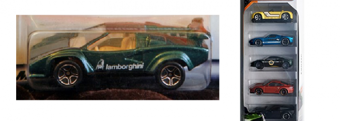 Matchbox Die-Cast Sports Cars